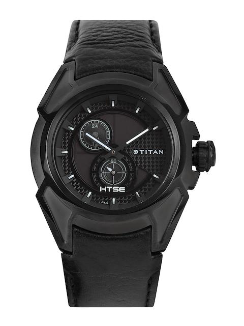 Titan HTSE Men Black Dial Watch NE1541KL01