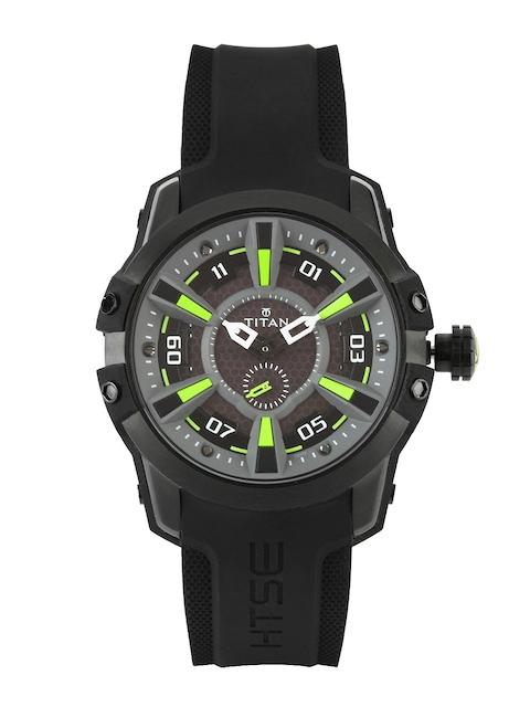 Titan HTSE Men Grey Dial Watch 1630NP02