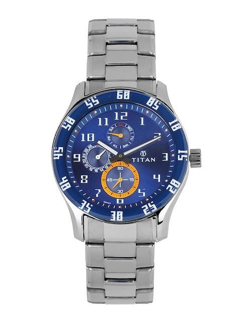 Titan Octane 1632SM03 Analog Blue Dial Men's Watch (1632SM03)