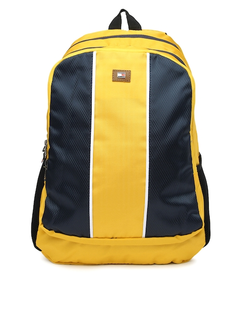 Tommy Hilfiger Unisex Yellow Beacon Backpack