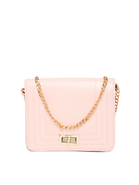 Buy ToniQ Light Pink Sling Bag - Handbags for Women | Myntra