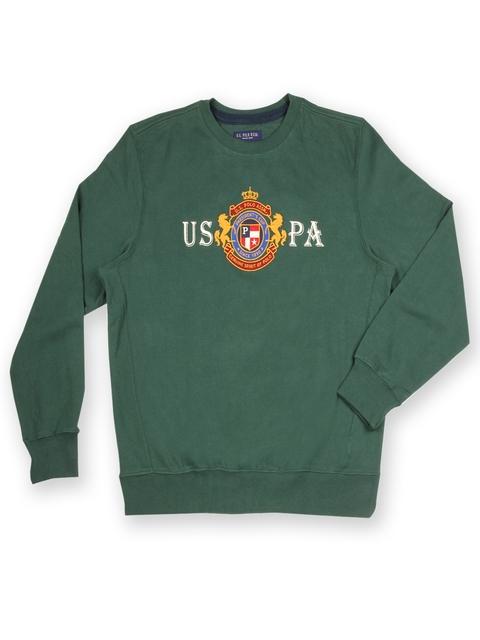 U.S. Polo Assn. Men Green Sweatshirt