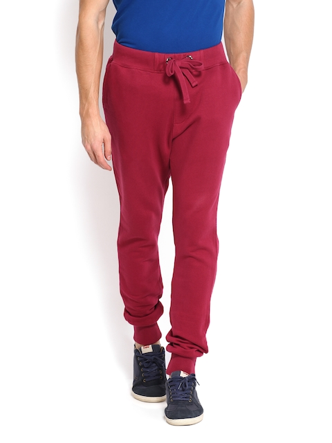 U.S. Polo Assn. Men Maroon Track Pants