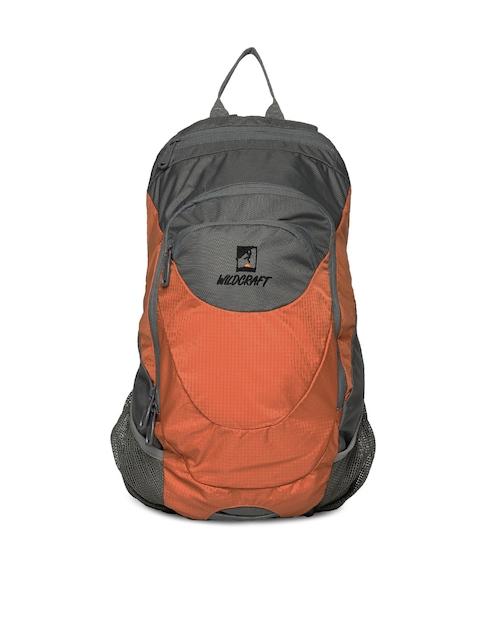 Wildcraft Unisex Orange Daypack A4 Backpack