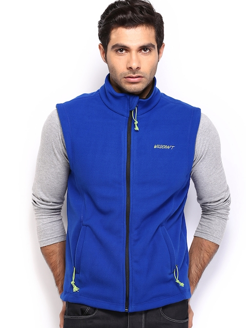 Wildcraft Men Blue Sleeveless Jacket