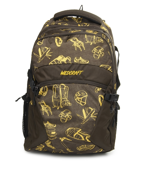 Wildcraft Unisex Brown Backpack