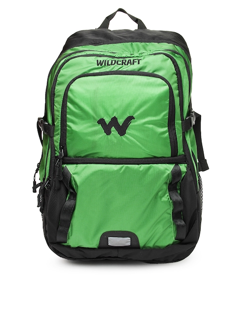 Wiki by Wildcraft Unisex Green & Black Backpack