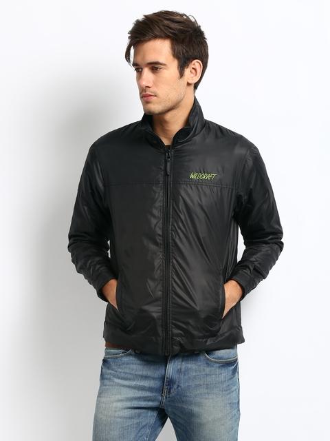 Wildcraft Unisex Black Thermo Black Jacket