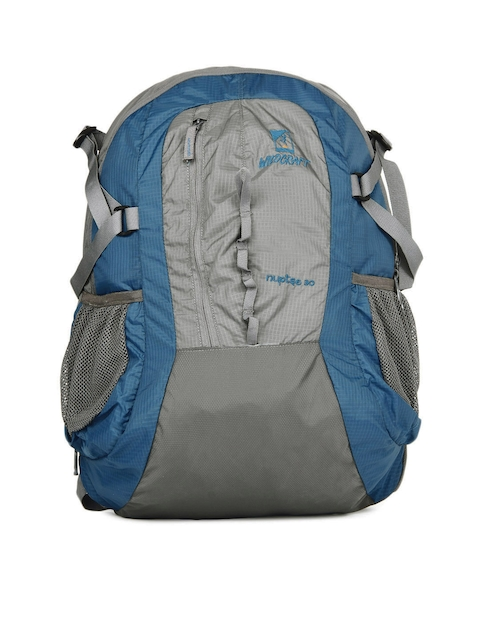 Wildcraft Unisex Nuptse Blue & Grey Rucksack