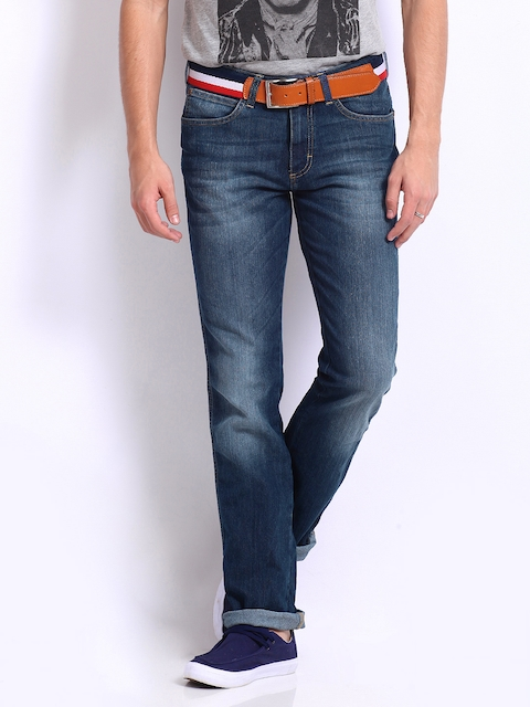 Wrangler Men Blue Millard Slim Fit Jeans  available at myntra for Rs.1197