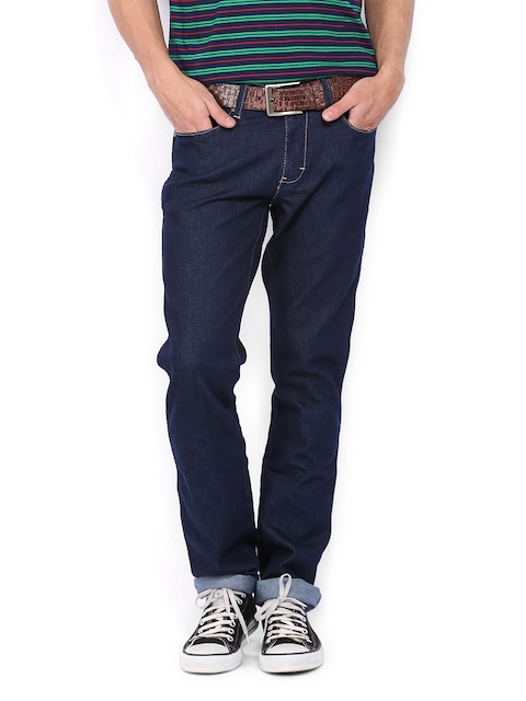 Wrangler Men Blue Skanders Slim Fit Jeans  available at myntra for Rs.1097