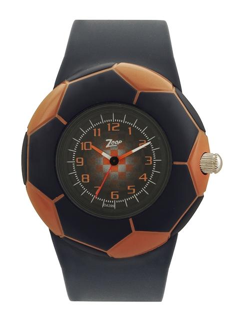 Zoop Kids Black Dial Watch