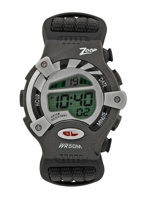 Zoop Kids Black Digital Watch