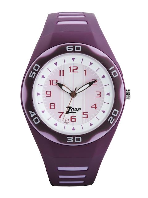 Zoop Kids Pink Dial Watch