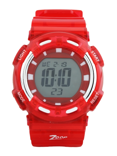 Zoop Kids Red Digital Watch