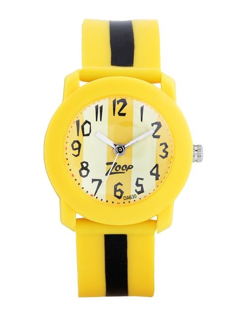 Zoop Kids Yellow Dial Watch