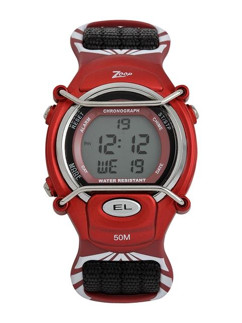 Zoop Boys Black Digital Watch