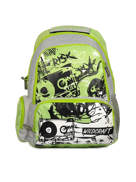 Wildcraft Unisex Outdoors Crump Green Backpack