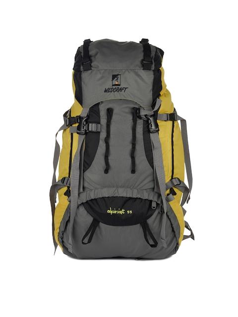 Wildcraft Unisex Yellow Alpinist Rucksack