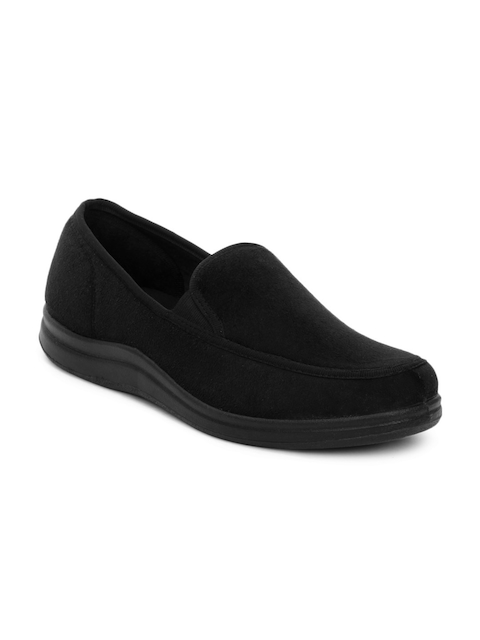 Gliders Men Black Shoes