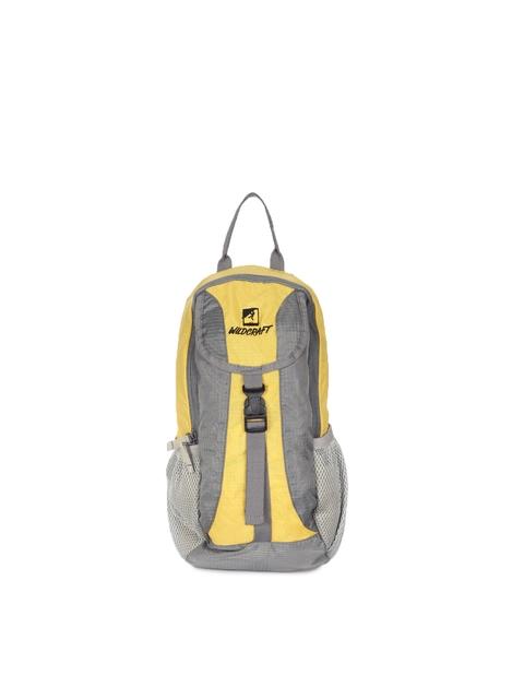 Wildcraft Unisex Yellow Hydrator Backpack