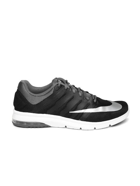 nike running shoes black air. buy nike men black air max era running shoes - sports for | myntra