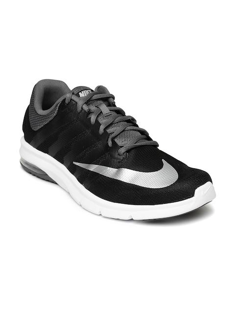 nike running shoes black air. buy nike men black air max era running shoes - sports for | myntra 9