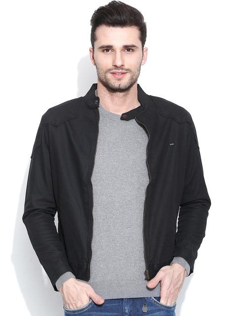 23ba90adc6 Buy Pepe Jeans Black Jacket - Jackets for Men 1005825