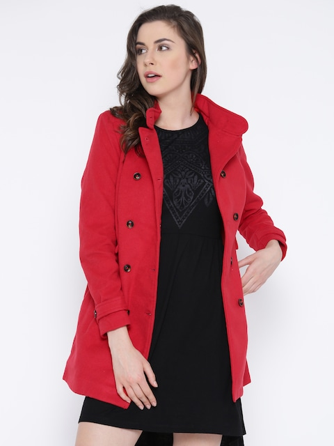 Buy Numero Uno Red Coat - Blazers for Women | Myntra