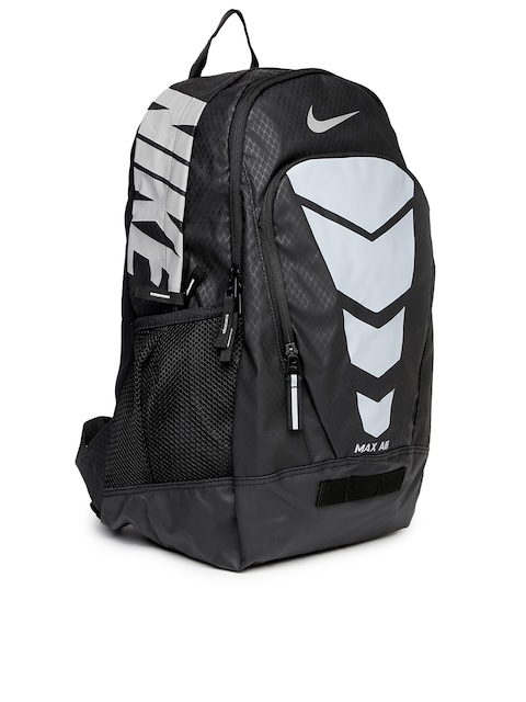 nike max air black and grey backpack mens health network