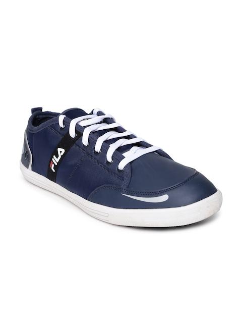 2016 Fila Sneakers for Men  Destroy Iii Navy Blue Sneakers Online