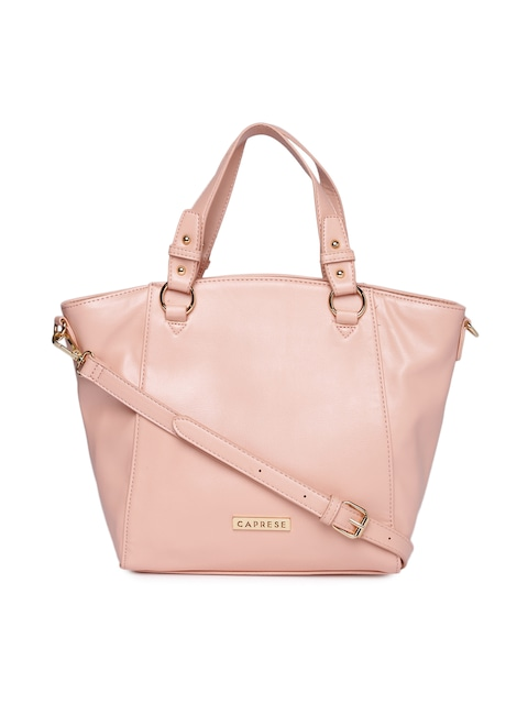 Buy Caprese Light Pink Handbag - Handbags for Women | Myntra