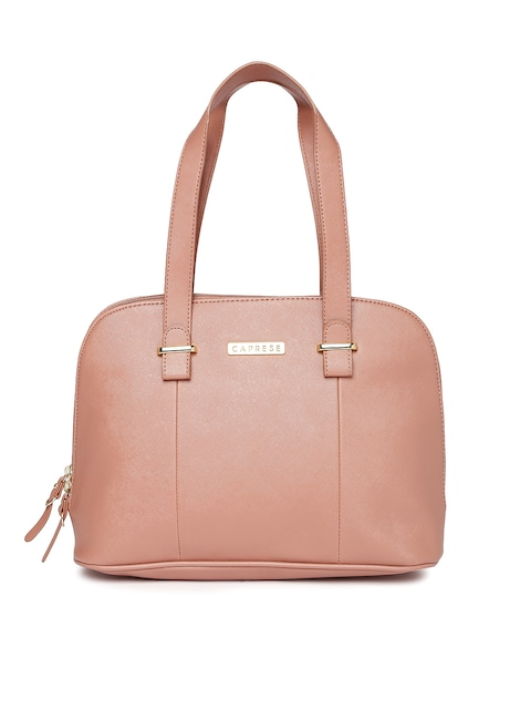 Buy Caprese Dusty Pink Handbag - Handbags for Women | Myntra