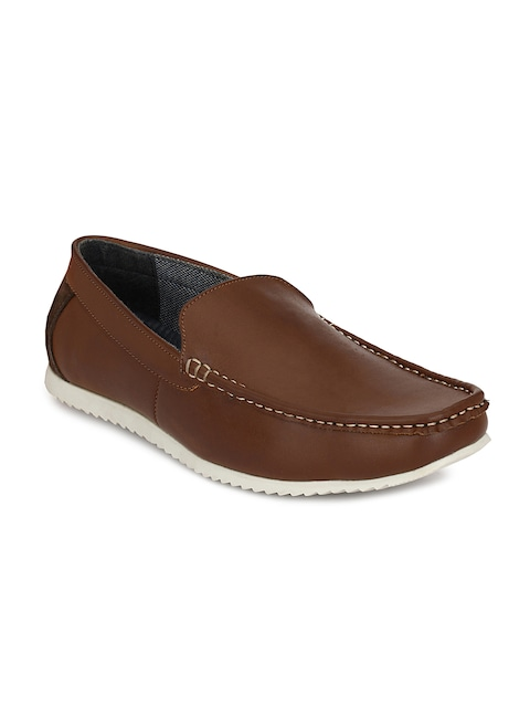 2016 Mactree Casual Shoes for Men  Brown Loafers On Sale