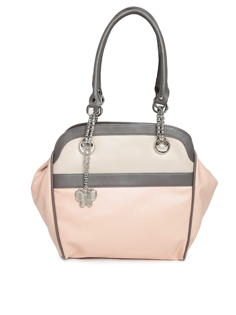 Buy Butterflies Dusty Pink Handbag - Handbags for Women | Myntra