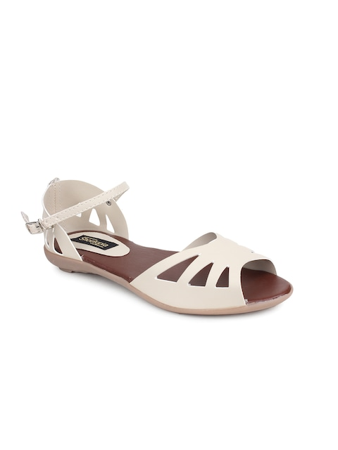 Shoetopia Women Cream-Coloured Flats thumbnail
