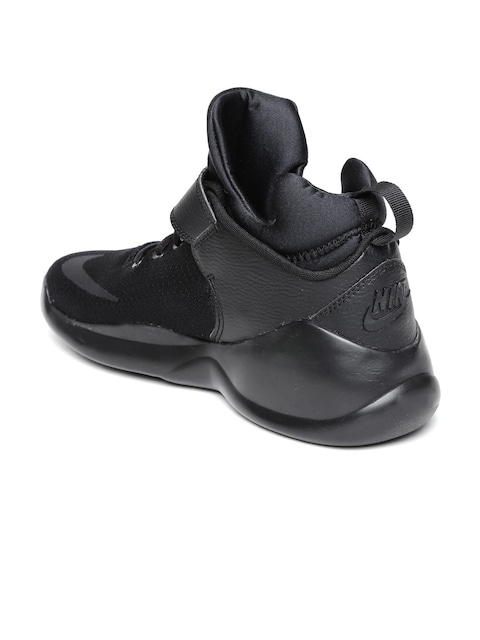 93a87b4218e5ee Buy Nike Men Black Kwazi Mid Top Sneakers - Casual Shoes for Men .