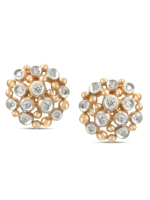 Diamond Stud Earrings Tanishq Niloufer Collection From ...