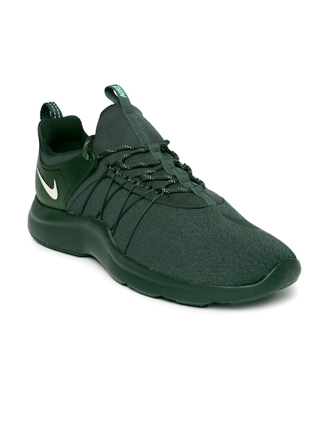 promo code cec12 73d1e ... Buy Nike Men Green Solid Darwin Sneakers - Casual Shoes for Men    Myntra  nike darwin white grey ...