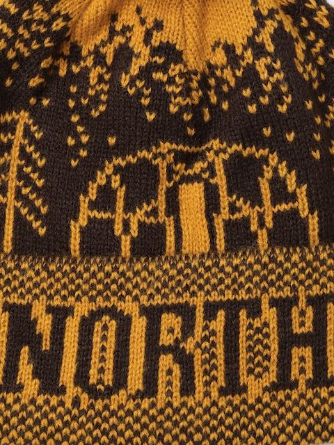Buy The North Face Unisex Mustard Yellow & Coffee Brown Fair Isle ...