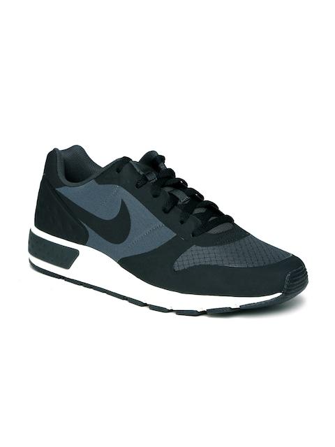 ... Buy Nike Men Black Navy Nightglazer LW Colourblocked Sneakers - Casual  Shoes for Men 1719472 Myntra ... d41ca843d