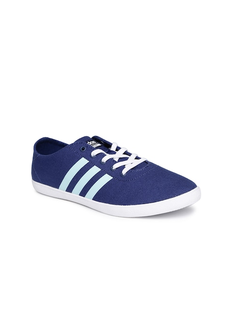 Adidas NEO Women Blue Cloudfoam Sneakers thumbnail