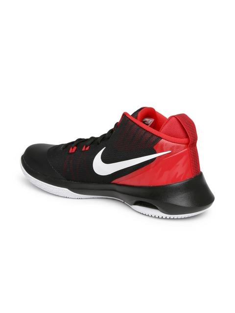 Buy Nike Men Black \u0026 Red Air Versatile Basketball Shoes - Sports Shoes for  Men 1800912 | Myntra