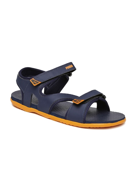 PUMA Men Navy Elego 2 IDP Sports Sandals thumbnail
