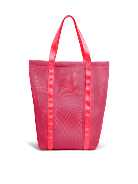 Buy Next Pink Solid Tote Bag - Handbags for Women | Myntra