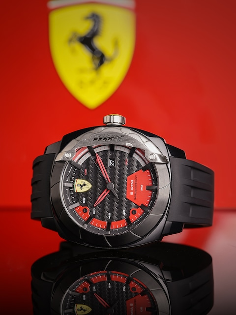 designer watches shipping scuderia ferrari primato shade station watch free