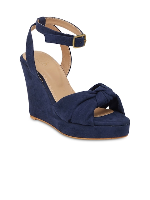 20Dresses Women Navy Wedges thumbnail