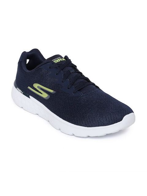 0fbbe54708b1 Men Footwear Sports Shoes Skechers Navy Blue Go Run 400 Generate ...