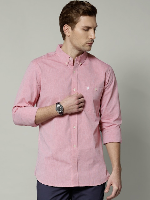 Buy French Connection Pink Casual Shirt - Shirts for Men | Myntra