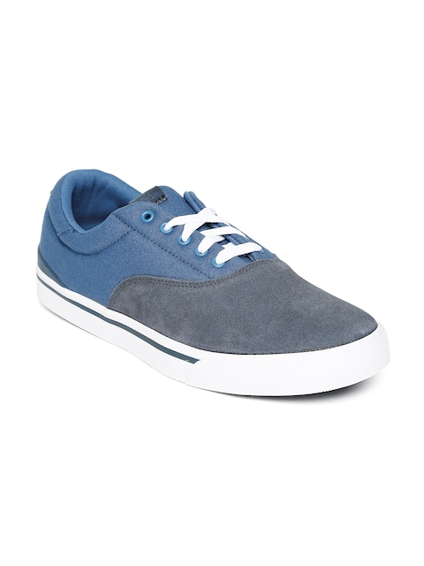 Buy Adidas NEO Men Grey \u0026 Blue Park St Classic Sneakers - Casual Shoes for  Men 990991 | Myntra